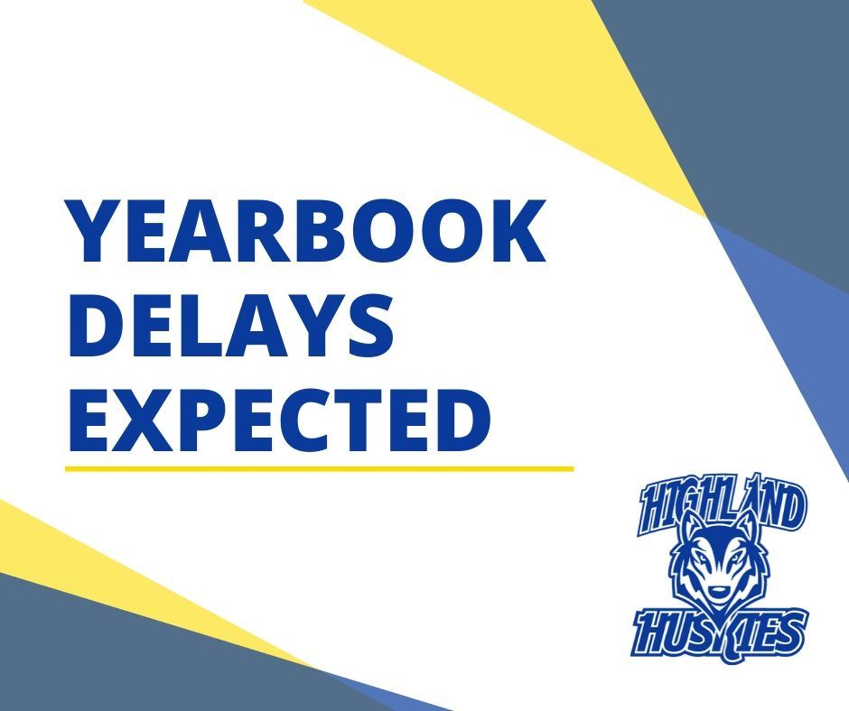 Yearbook Delays Expected